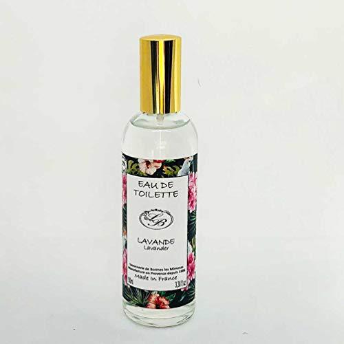Savonnerie de Bormes: Eau de Toilette Lavendel, 100 ml Flasche mit Zerstäuber (Spray)