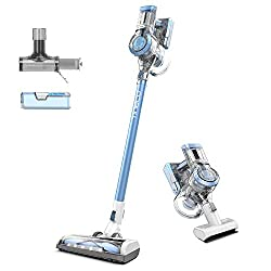 60 mins Long Lasting Runtime - Tineco A11 attached TWO detachable batteries provide 20% longer runtime for the whole house cleaning with cordless convenience.【Tineco is the Only Authorized Seller on Amazon.】 Enhanced Extreme Suction - Tineco A11 450W...