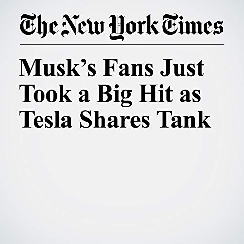 Musk's Fans Just Took a Big Hit as Tesla Shares Tank copertina