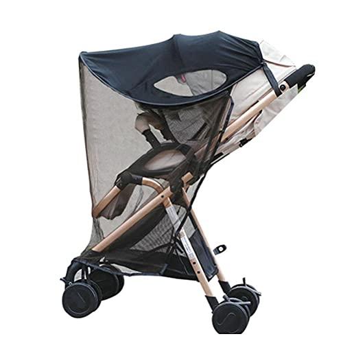 YDLYA Capota para Cochecito con mosquitera UV UPF50 + Parasol para cochecitos Capota para Cochecito de bebé y carritos Deportivos