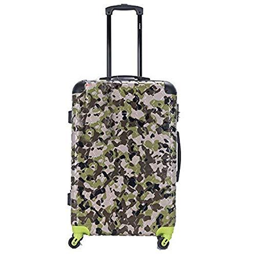 Baggage World, Valigia Green Camo Large 28'