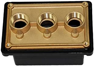 Pentair 78310600 3/4-Inch Black Junction Box Port Replacement Pool and Spa Light Systems