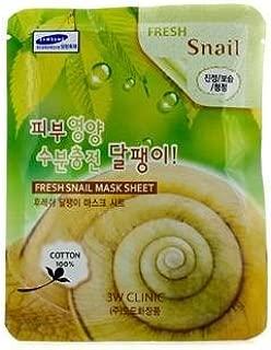 3W Clinic 3w clinic mask sheet - fresh snail, 1