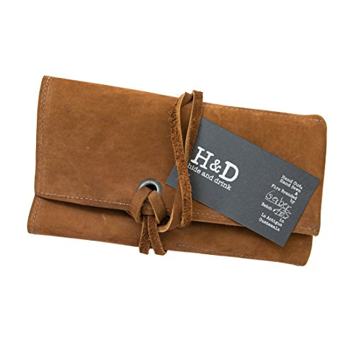 Durable Leather Watch Roll Handmade by Hide & Drink :: Swayze Suede