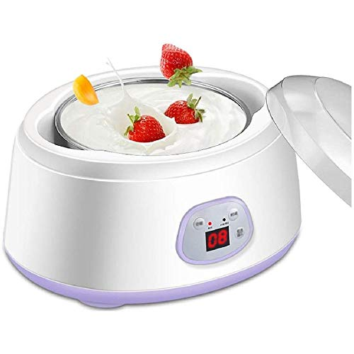 Lcxliga Yogur Máquina-1L Fabricante de Yogur Multifuncional automática Vino de arroz Yogur Máquina Inoxidable 110V-240V