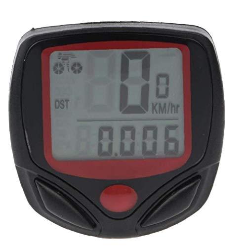 Hiinice Profesional velocímetro de la Bici Impermeable del odómetro Bicicletas Velocidad de Seguimiento Exacto del velocímetro Incorporado en la batería