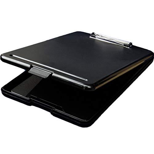 REX-OWL クリップボード A4 バインダー 書類の収納ができる クリップファイル SKB-01 (ブラック)