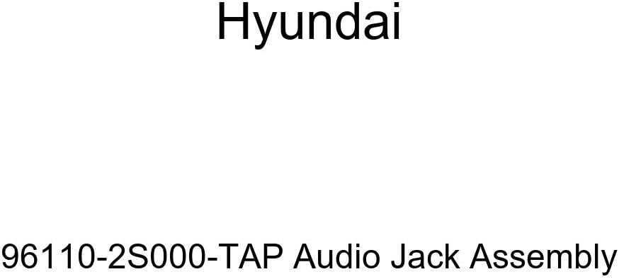 HYUNDAI Genuine High ! Super beauty product restock quality top! order 96110-2S000-TAP Jack Assembly Audio