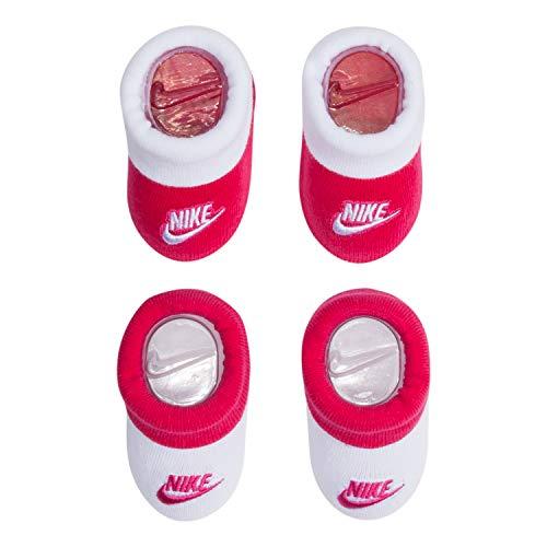 Nike - Botines para niños (2 unidades) - Rosa - 0-6 meses