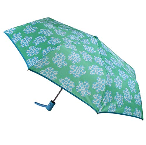 Paraguas Resistente al Viento Sistema de Apertura automática Plegable Color Azul con Nubes Agatha Ruiz de la Prada