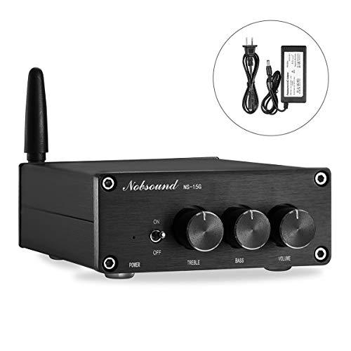Nobsound Mini Bluetooth デジタルアンプ HiFi ステレオ AMP 100W×2