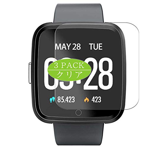 Vaxson - Pellicola protettiva per display compatibile con smartwatch ZKCREATION Y7, pellicola protettiva HD [non in vetro temperato]