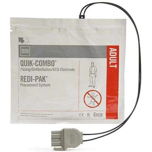 Physio Control Pads, Edge System Quik