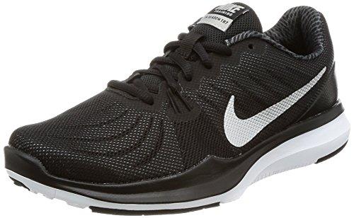 Nike Nike Damen Fitnesschuh In-Season-TR 7 Fitnessschuhe, Schwarz (Black/Metallic Silve 001), 37.5 EU