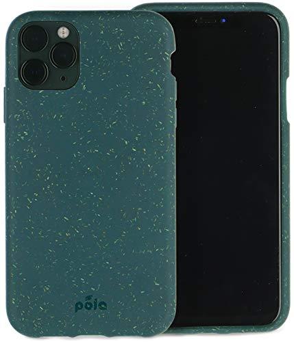 Oferta de Pela - Funda para el iPhone 11 Pro - 100% compostable - Biodegradable - Hecho con Plantas - Cero residuos (11 Pro Green)