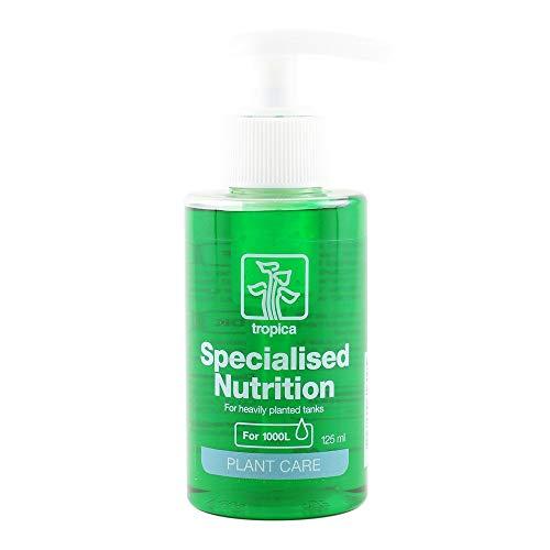 Tropica Specialised Nutrition Dünger 125ml Flasche Düngung für Aquarienpflanzen Stickstoff Phosphor Mikronährstoffe