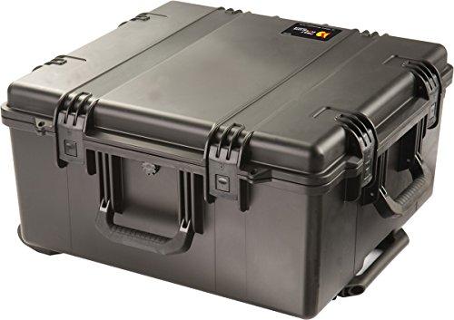 PELI Storm IM2875 Maleta de Transporte Profesional con Ruedas y asa telescópica para Equipos frágiles, Resistente al Agua y al Polvo, 89L de Capacidad, Fabricada en EE.UU, sin Espuma, Color Negro