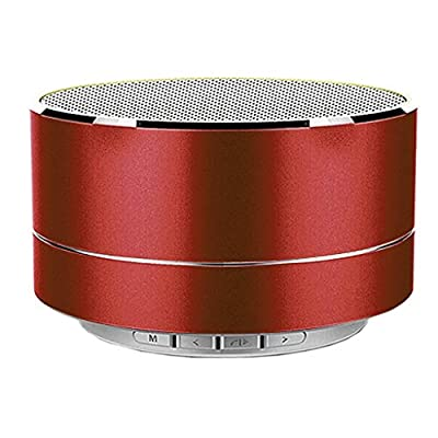 Amazon - Save 80%: Portable Wireless Bluetooth Speaker with AUX Line, Mini Speaker, TF Card,HD…