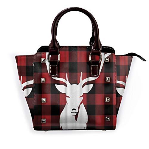 BROWCIN Primitive Country Grey Coloured Ornate Stars auf Holz rustikalen Zaun Kabine Abnehmbare mode trend damen handtasche umhängetasche