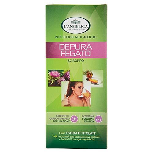 L'Angelica Sciroppo Depura Fegato, Bottiglia da 250 ml