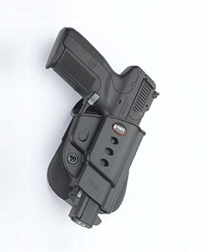 Fobus Ocultar oculta llevar 5 cm Police Wide Belt ROTO funda giratoria para FNH Five-Seven (no es compatible con el nuevo FN 5.7 MK2)