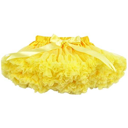 Buenos ragazzini in colore ragazza Pettiskirt gonne Dance per bambini a forma di tutù per abiti da donna gonna Petticoat