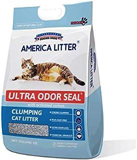 America Litter Unscented Clumping Cat Litter, Multi-Colour, CLAMERICA