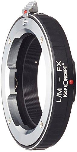 K&F Concept レンズマウントアダプター KF-LMX  (ライカMマウントレンズ → 富士フィルムXマウント変換)