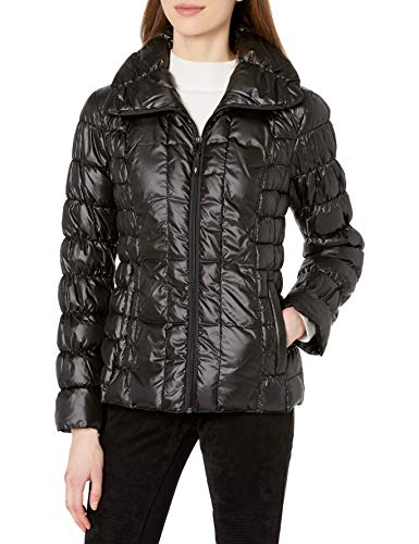 Kenneth Cole Women's 17LMP368 Outerwear, -black, X-Small