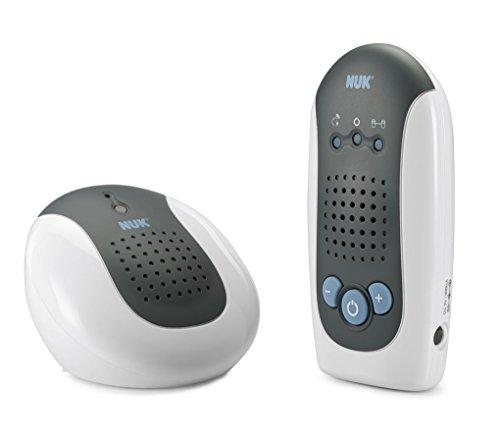 NUK 10256350 Babyphone Easy Control 200, hohe Qualität, einfachste Bedienung, 100% störungsfrei, bis zu 200 m Reichweite, digitale FHSS-Technologie