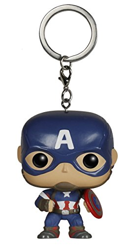 Funko 5224 Pocket Pop Keychain: Avengers 2 - Captain America