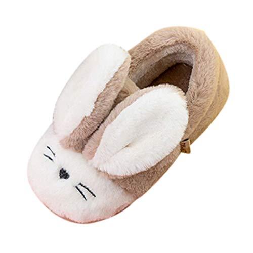 Lenfesh Baby Winterschuhe Hausschuhe Kleinkind Baby Mädchen Warm Halten Niedlich Schneestiefel Weiche Sohlen Krippe Schuhe Stiefel Winterstiefel