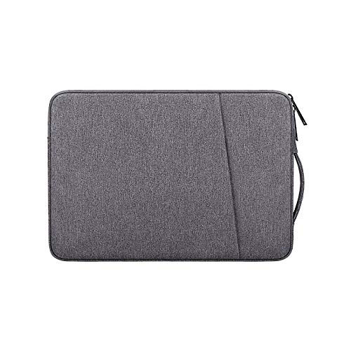 Hjkl Fashion Laptop Bags Notebook Pouch Briefcase Case Laptop Air Laptop Pro Redmibook 14 11 12.5 13.3 15 Inch Handbag Sleeve (Color : Dark Grey, Size : Fit 14-15.4 inch)