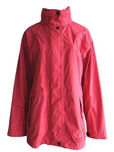 Maul Funktionsjacke, Outdoorjacke aus Mega Tex Allwetter-Laminat in Rot, Gr. 40