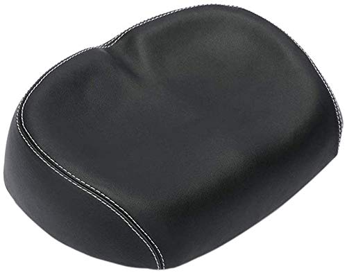 Aoobee Wide Bike Seat, Noseless Bicycle Saddle, Comfortable Bike Seat, Elastic Seat Cushion for Bike Saddle Sports Cycling Soft Bike Cushion Pad