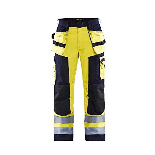 Blakläder 157915143389C54 Multinorm Handwerker Bundhose Größe C54 in gelb-marineblau