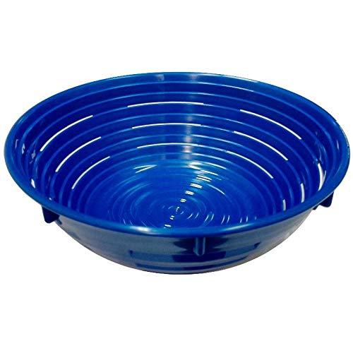 Erretre srl Cestino in plastica per la lievitazione del Pane Diametro 24x9(h.) cm 1500 Grammi