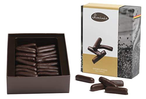 Palitos de jengibre Duva Premium envueltas en chocolate negro belga 200g