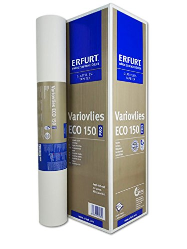 Erfurt Variovlies Malervlies überstreichbare Vliestapete, Eco-Vlies EV 150g/qm