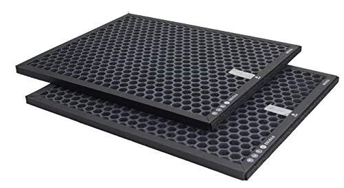TECON 2 STÜCK Aktivkohle Ersatzfilter kompatibel mit Philips FY5182/30 Luftreiniger AC5659/10 (5000 Serie und 5000i) Nano Protect HEPA, einsetzbar statt FY5182/30