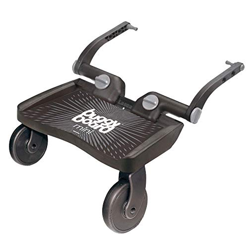 Lascal BuggyBoard Mini Universal Stroller Board, Fits 90% of Strollers Including UPPAbaby, Baby Jogger, Bugaboo, No Need for a Double Stroller for Infant and Toddler, Max Weight 66 lbs.
