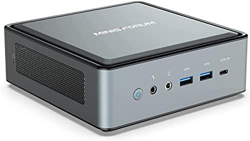 MINISFORUM EliteMini HM80 : AMD Ryzen 7 4800U (8コア16スレッド) 4K 3画面出力可能(HDMI/DisplayPort/USB Type-C) *Windows 11 正式対応 (ベアボーン(メモリー無し/M2.SSD無し))