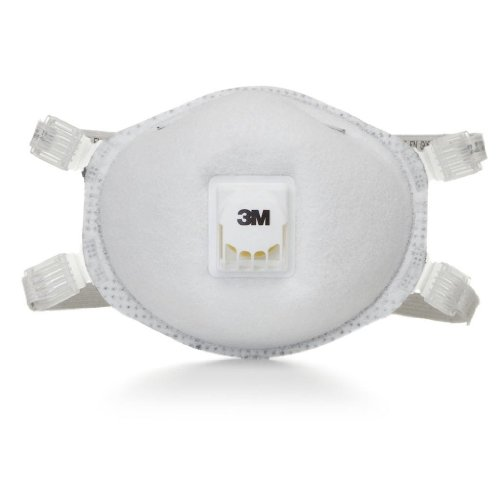 3M Particulate Respirator 8214, N95, with Faceseal and Nuisance Level Organic Vapor Relief 80 EA/Case