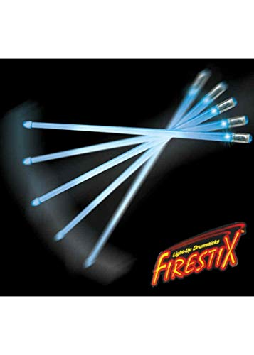 Trophy FX12BL Firestix Light-Up Drumsticks, Blue