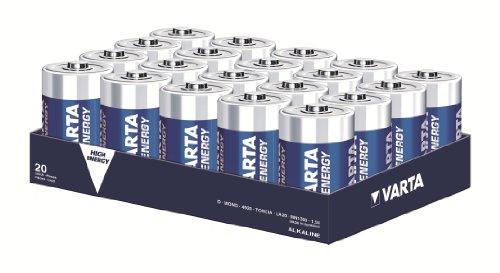 Varta High Energy Mono/D 4920 im 20er Pack lose in Folie