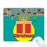 クリスマスギフト祝福 ゲーム用スライドゴムのマウスパッドクリスマス