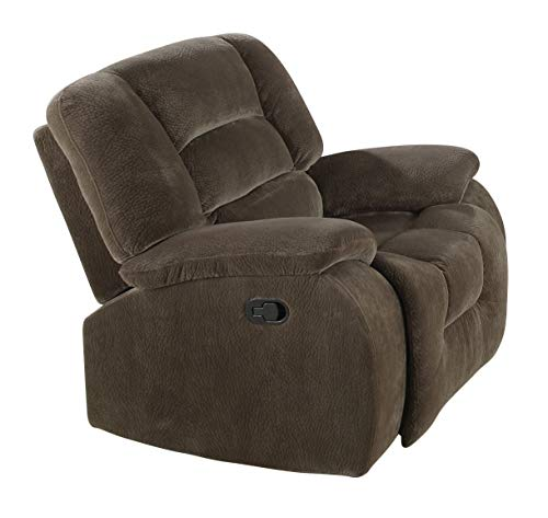 Coaster Home Furnishings Casual Recliner, Brown Siege