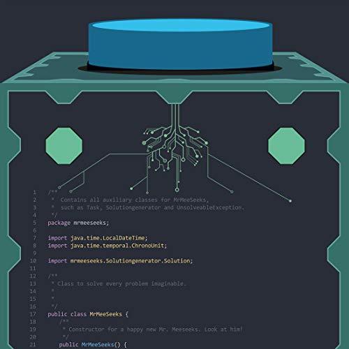 Mr. Meeseeks Box o' Fun Code Poster