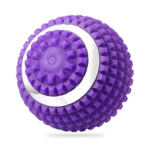 Lowest Price! FYQF 4 Speed Vibrating Massage Ball, Vibration High Intensity Fitness Massage Balls, R...