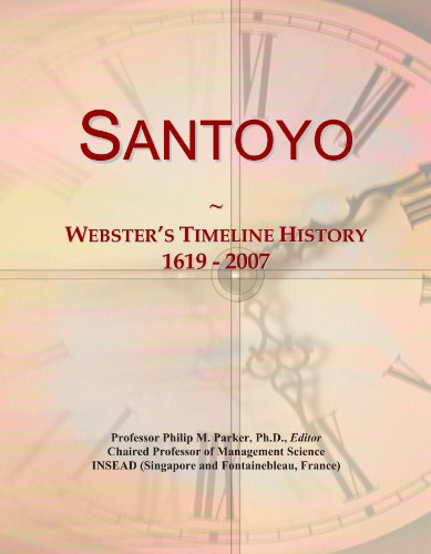 Santoyo: Webster's Timeline History, 1619 - 2007